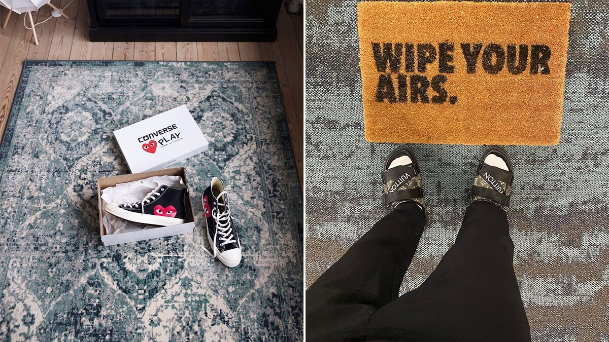 Hypebeast Room Rug & Sneaker Mats