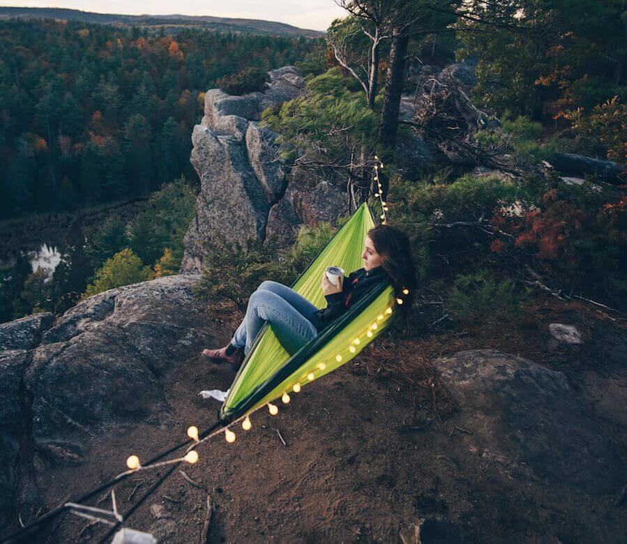 hammock creative photo idea