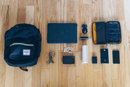 what's in my tech bag essentials