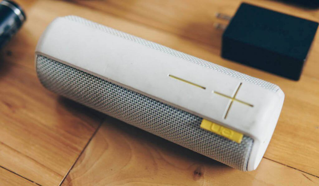 UE boom bluetooth travel speaker
