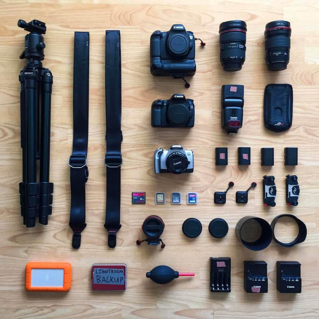 colin herrington camera gear