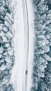Hneri Winter Drone Image