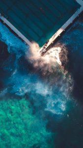 Pat Kay Waves Pool Aerial