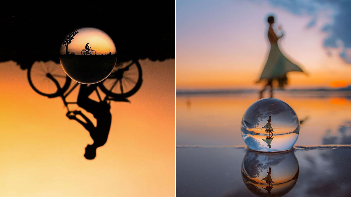 Lensball Portrait Photography Ideas