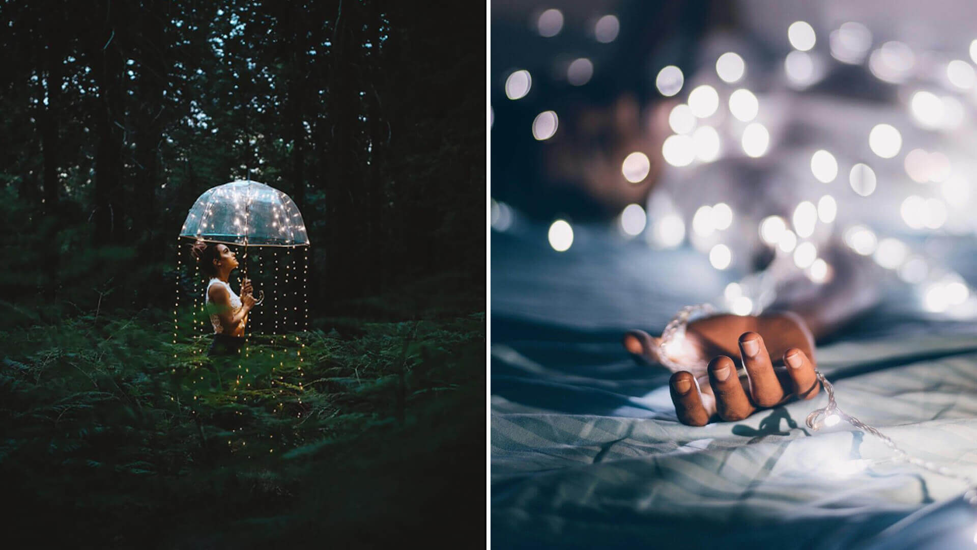 Aesthetic Fairy Lights for Photography