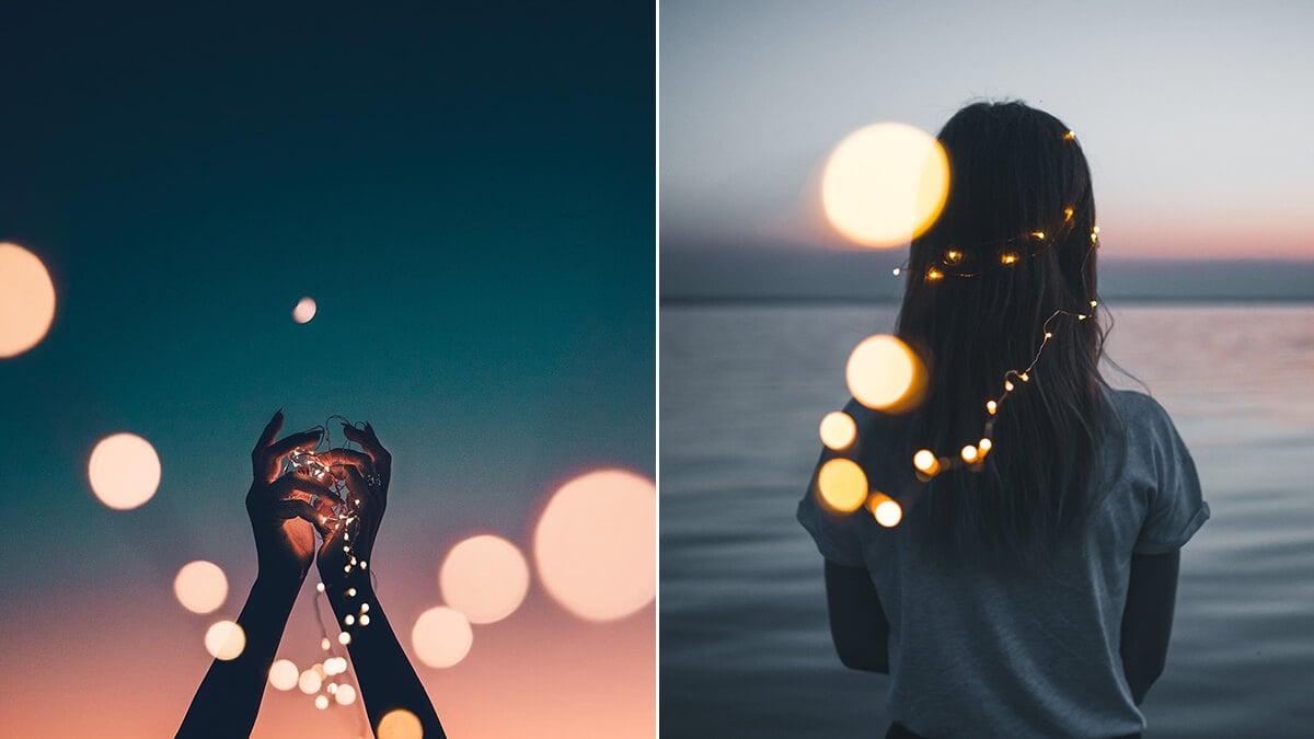 Aesthetic Fairy Light Photography Ideas