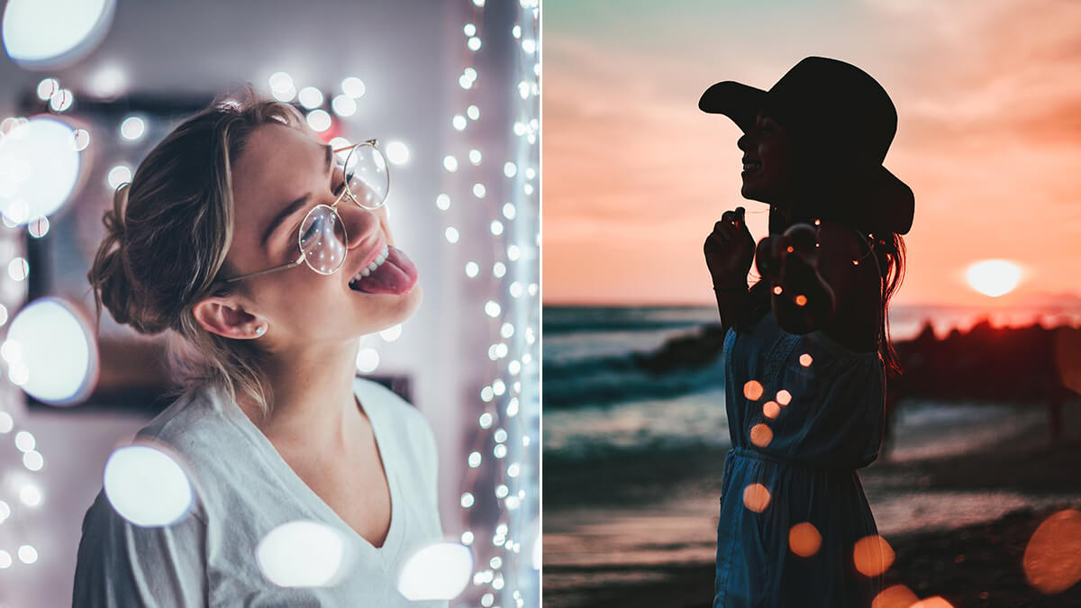 Fairy Lights for Portrait Photography