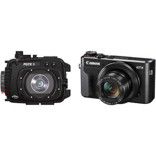 fantasea canon g7x underwater camera housings