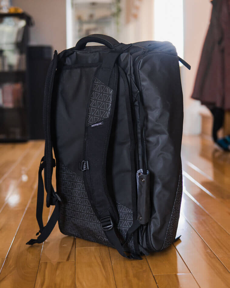 Nomatic duffle and backpack