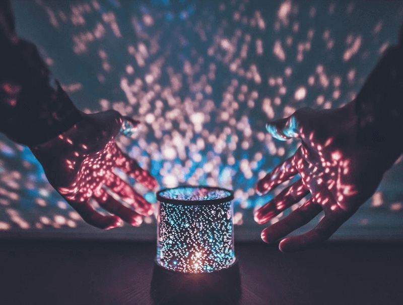 Starry LED Projector Lamp brandon woelfel