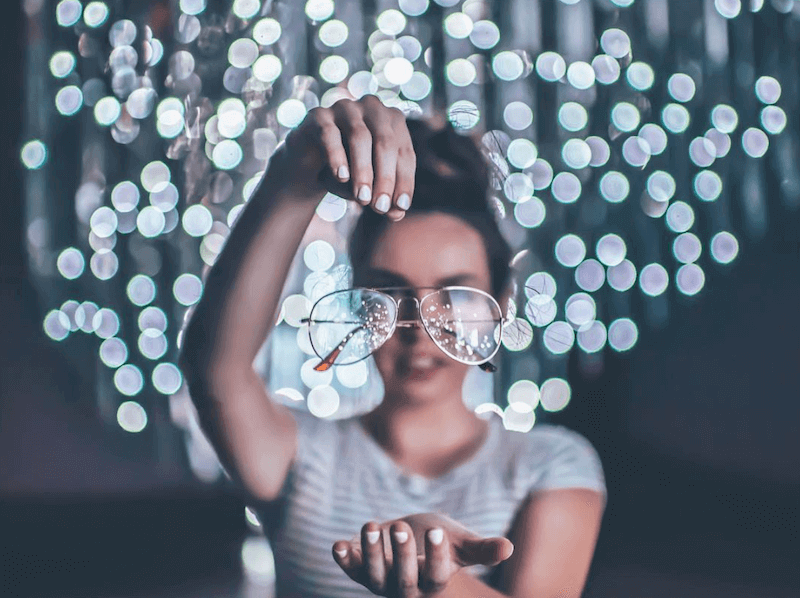 aviator glass from brandon woelfel