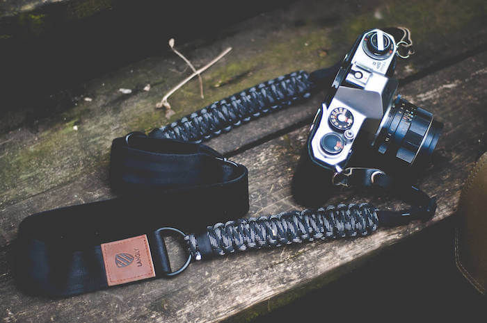 langly paracord camera sling strap