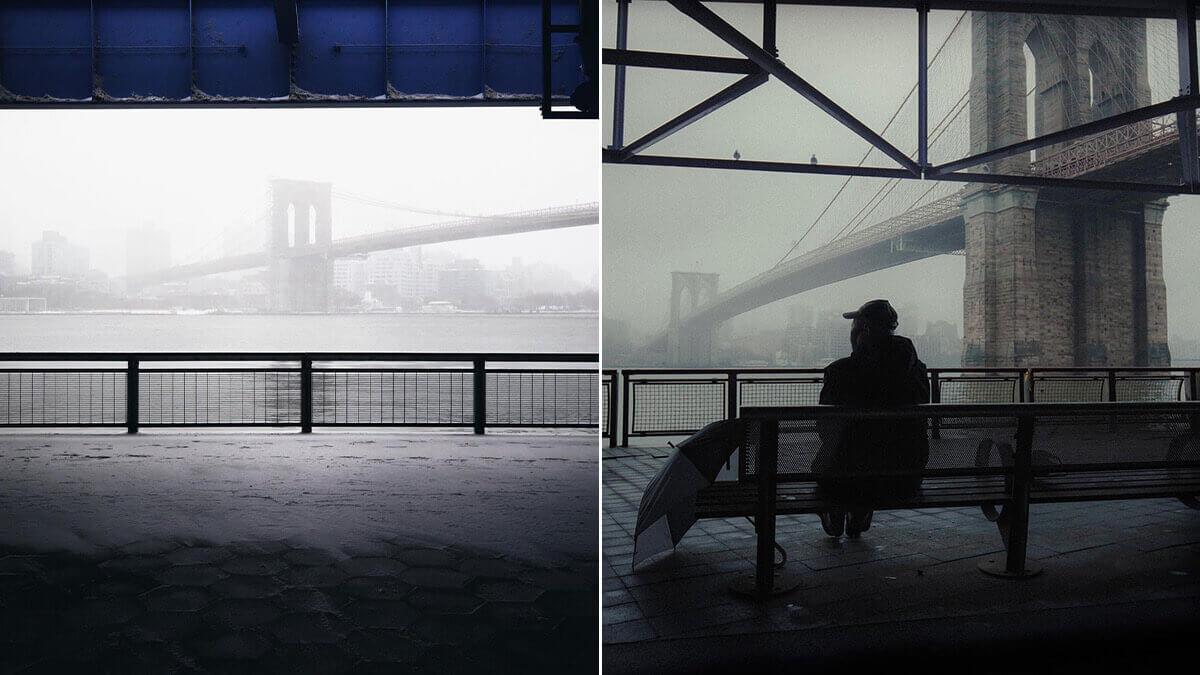 Two Bridges NYC Photo Spot