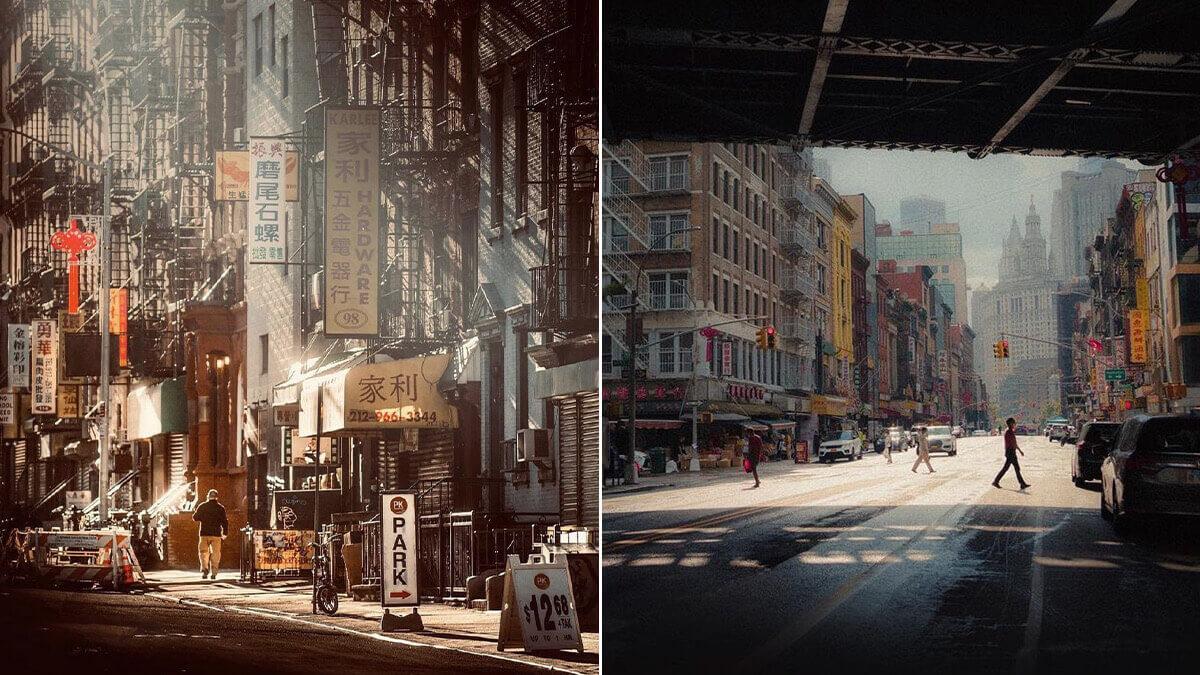 NYC Chinatown Photography Spot