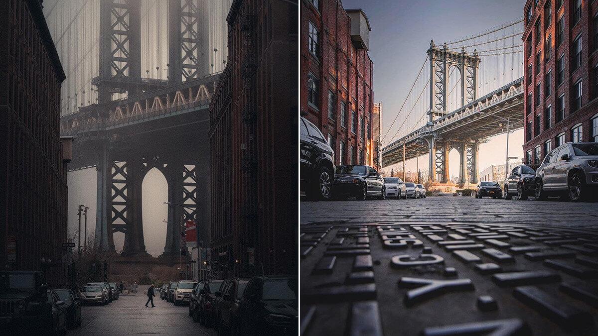 DUMBO Photo Spot –Manhattan Bridge View