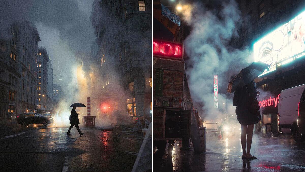New York City Smoke Photography ideas