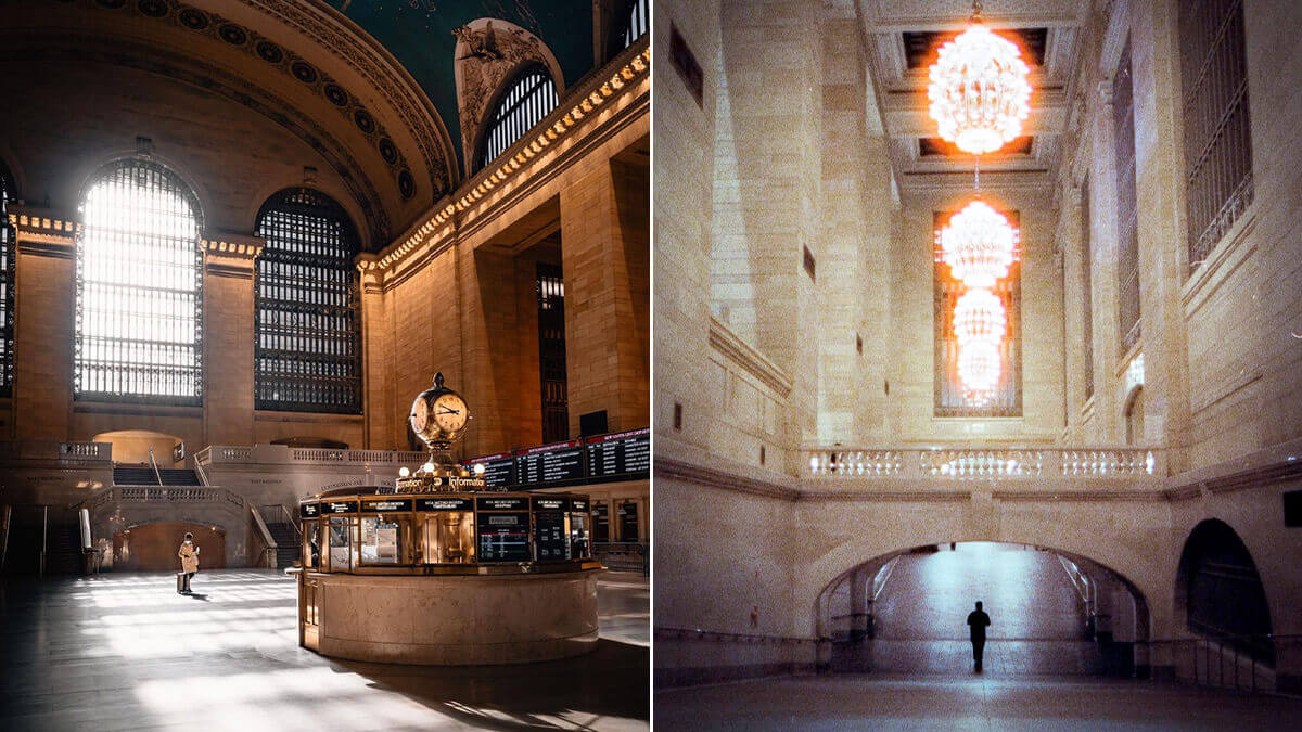 Grand Central Terminal NYC Photoshoot
