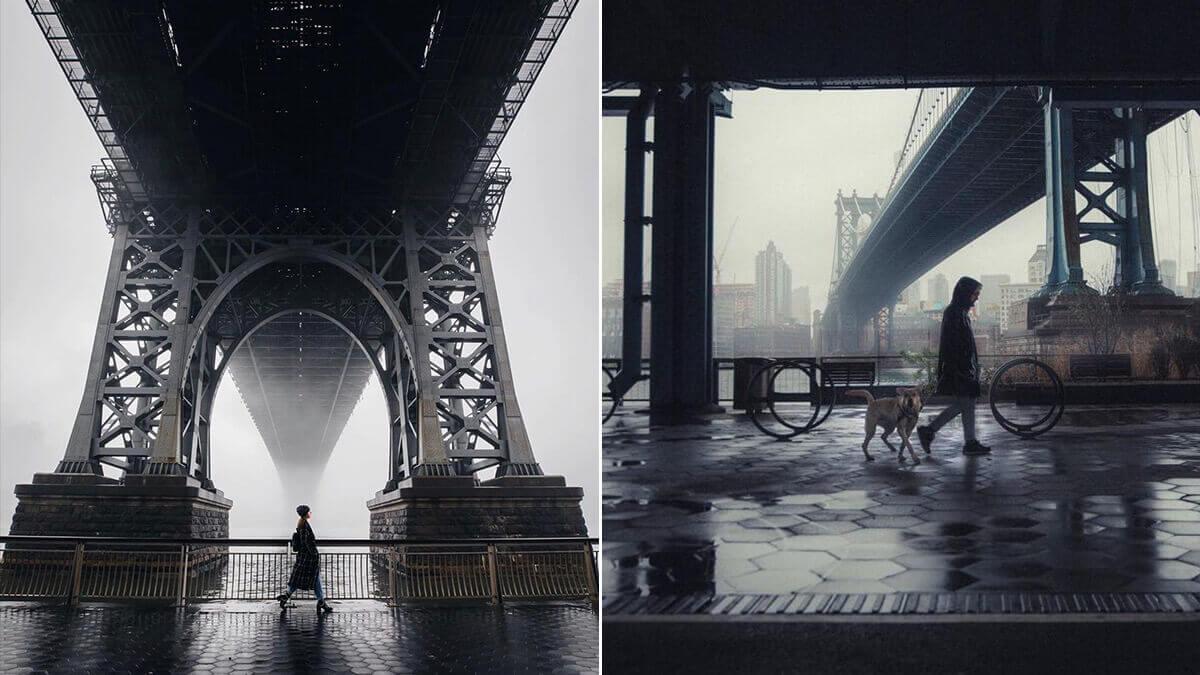 Under Manhattan Bridge Photography