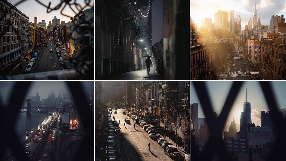 Manhattan Bridge Walkway NYC Photography