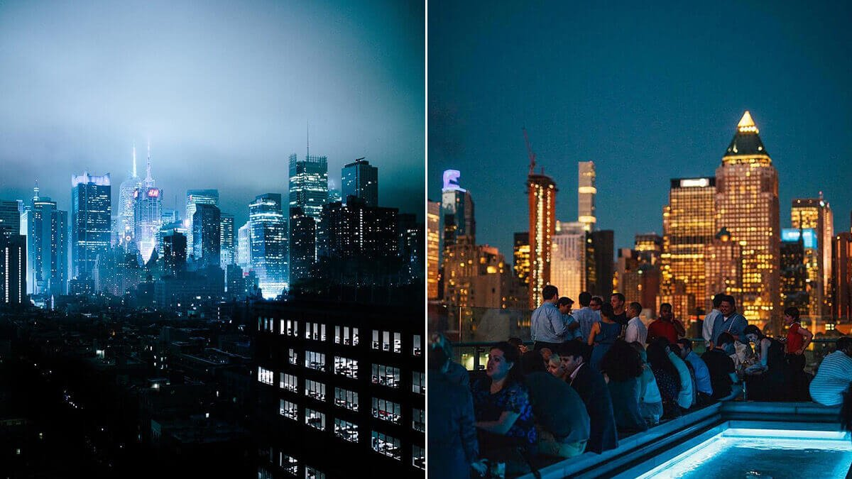Press Lounge - NYC Rooftop Photography