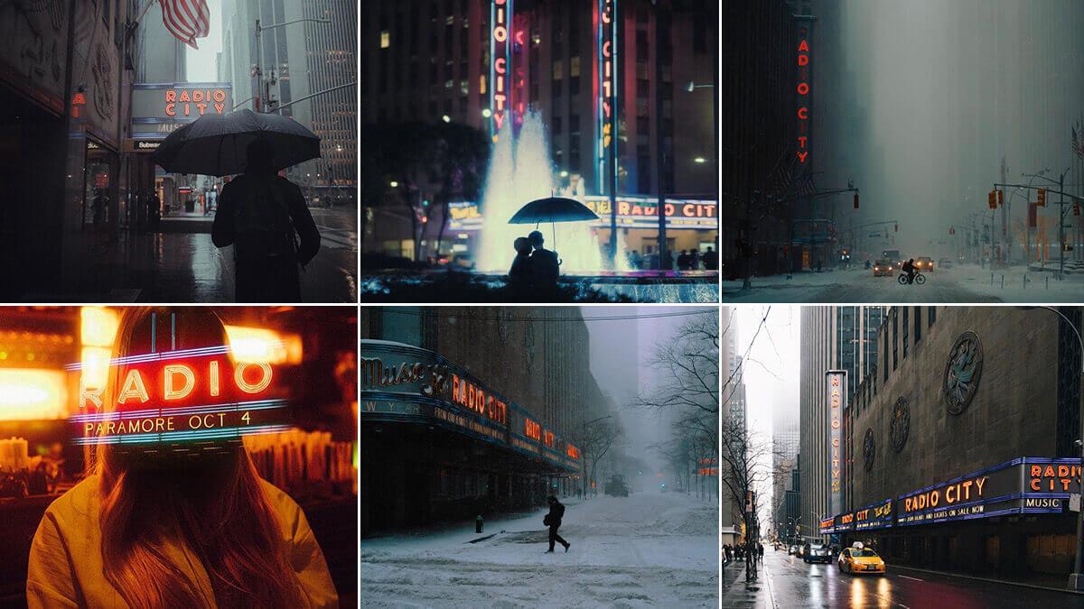 Radio City Music Hall NYC Photography