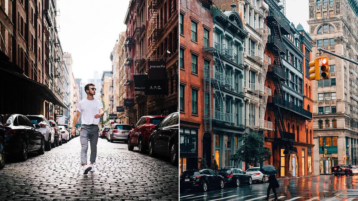 NYC SoHo Street Photography Ideas