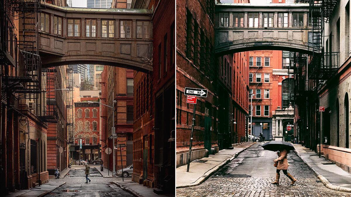 Staple Street Skybridge NYC Photo Spot