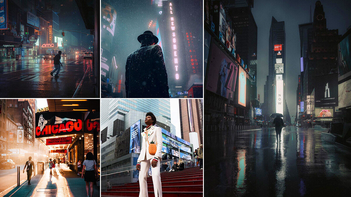NYC Times Square Photography Ideas