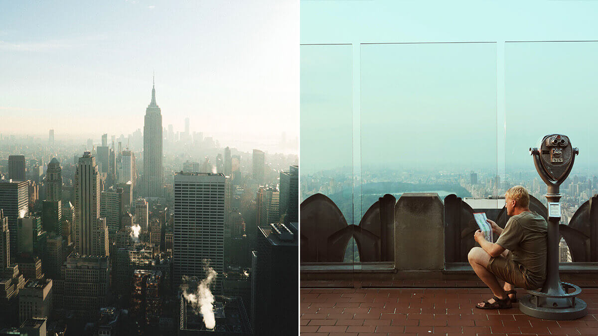 Top of the rock NYC Photography Spots