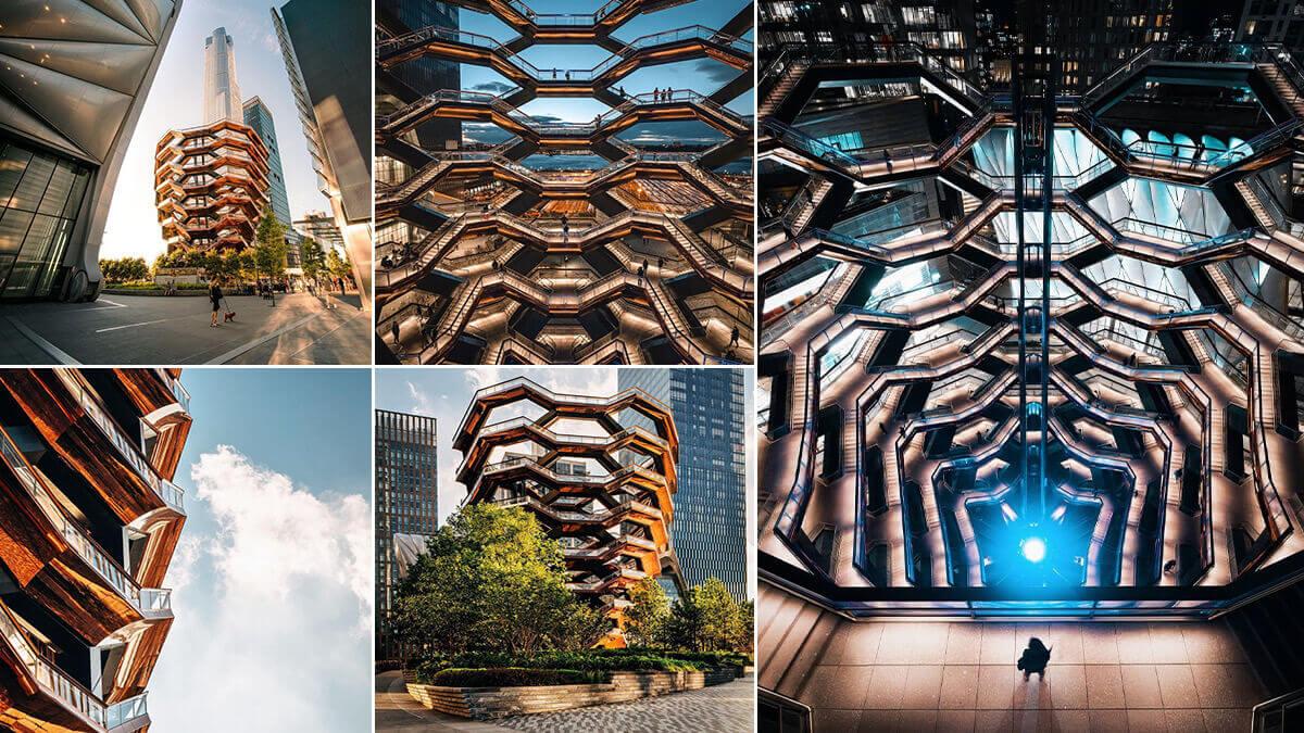 Vessel Hudson Yards NYC Photo Location