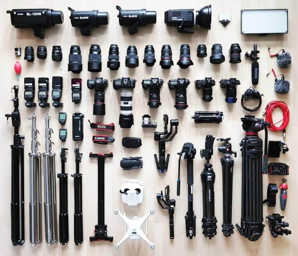 pawel wieloch camera gear
