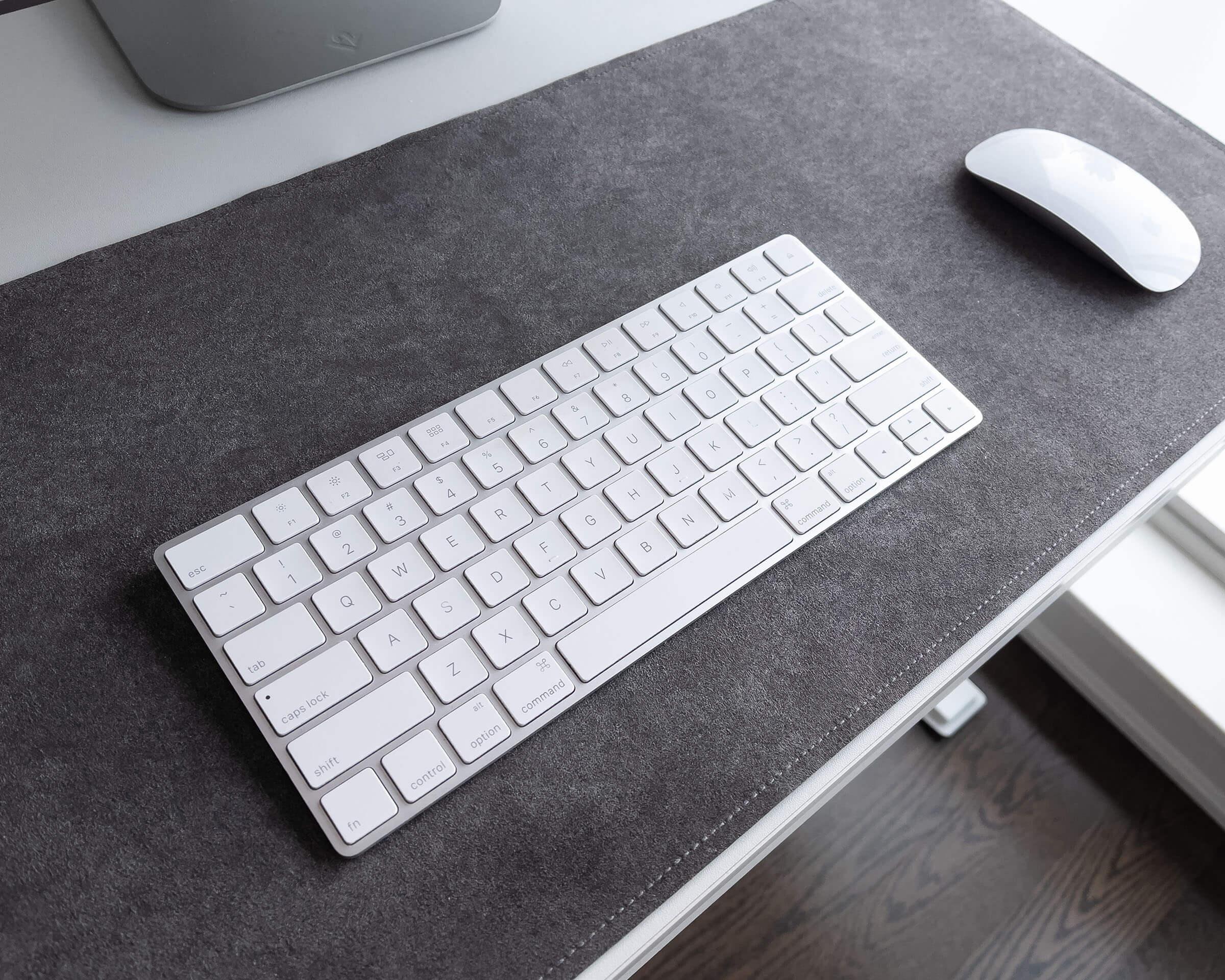 Microfiber Desk Mat - Soft Desk Cover