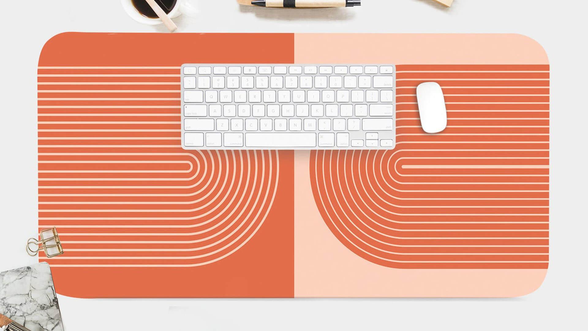 Boho Print Desk Mat