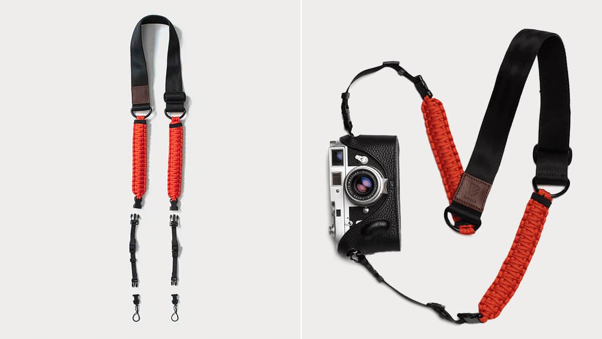 Langly Hybrid Paracord Camera Strap