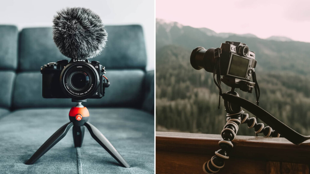 Best Tabletop Tripods & Vlogging Tripods