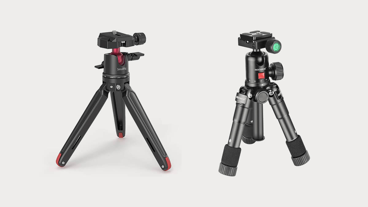 Best Tabletop Tripods with Ball Heads