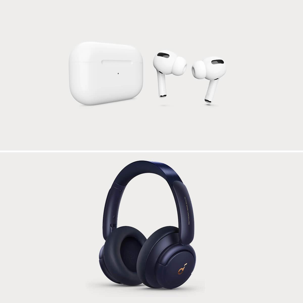 Tech Travel Headphones & Earphones