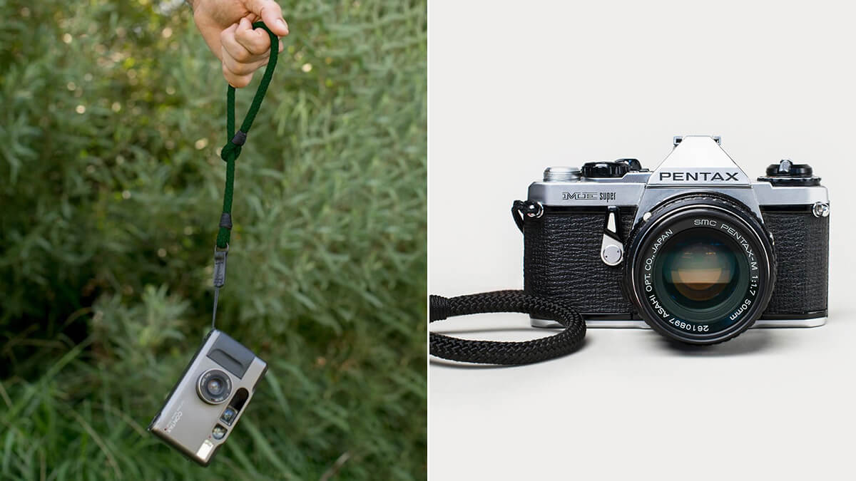 Compact Camera Wrist Strap
