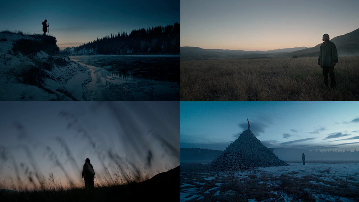 The Revenant Visually Pleasing Movie Frames