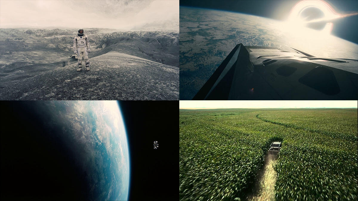 Interstellar Beautiful Movie Stills