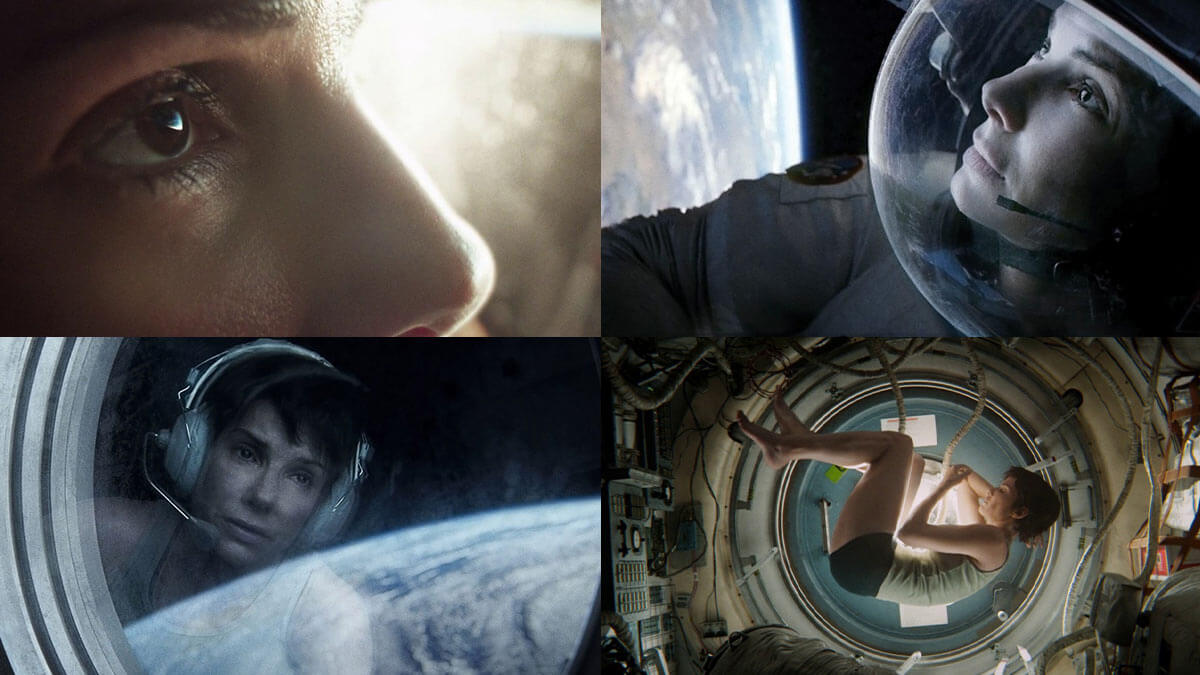 Gravity Cinematic Portrait Stills