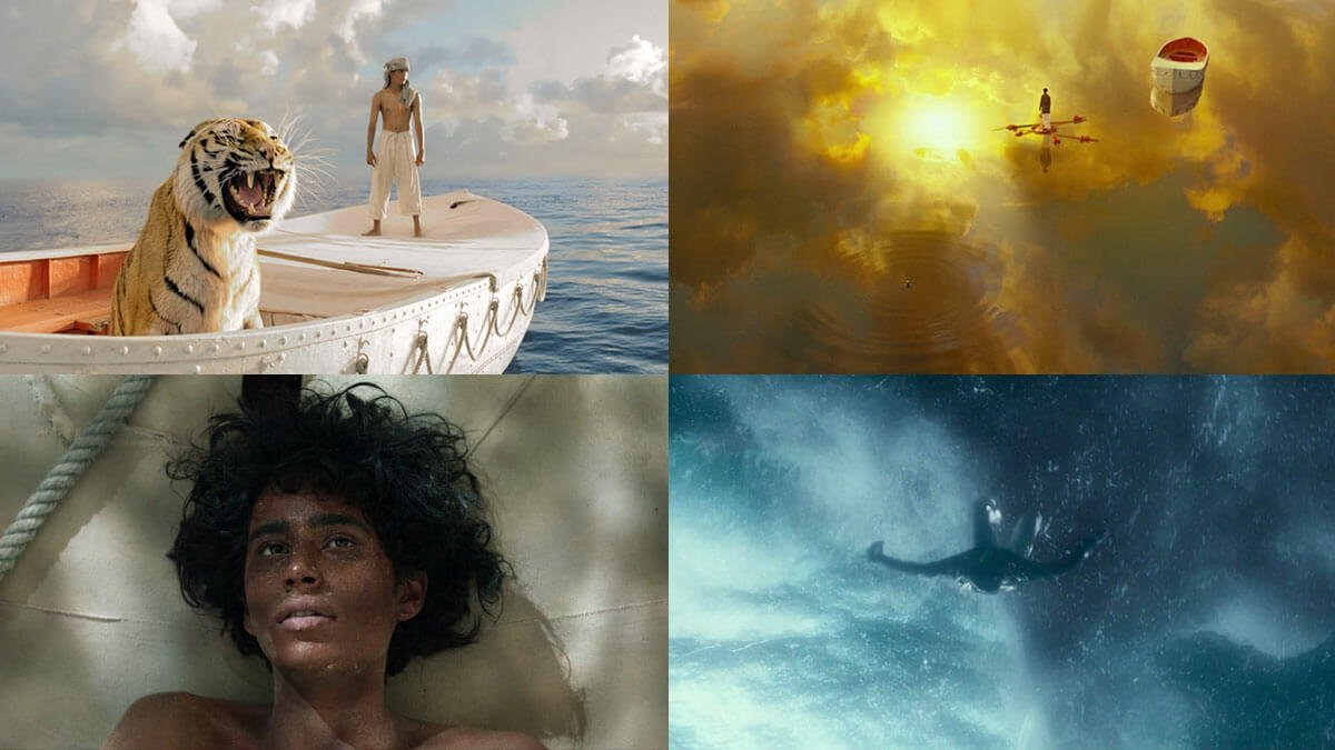 Beautiful Life of Pi Visuals