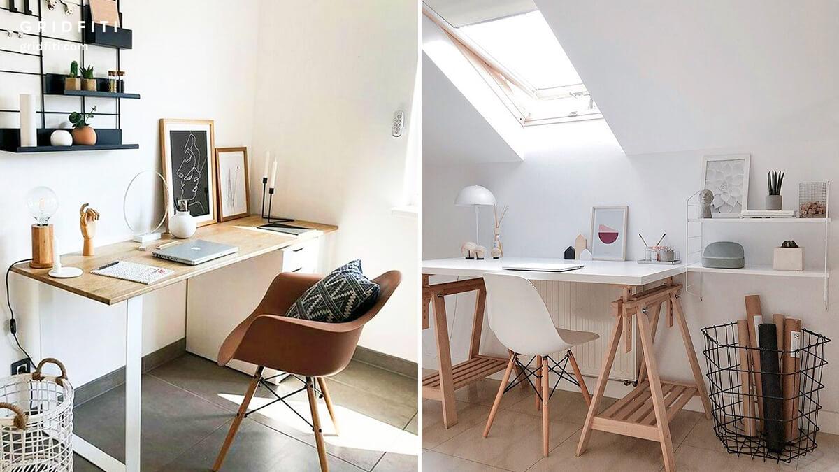 Aesthetic Desk & Home Office Ideas