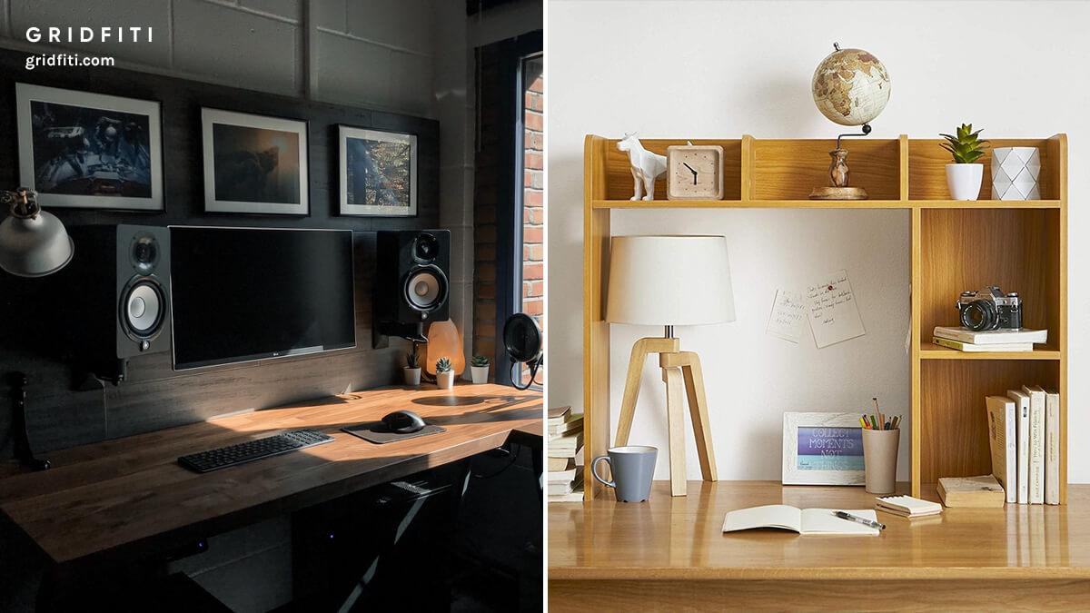 College Desk Setup Ideas