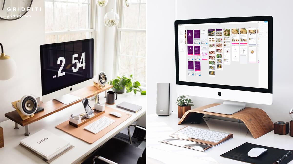 Designer's Minimalist Desk Setup