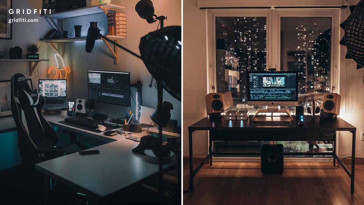 Filmmaker & YouTuber Desk Setup