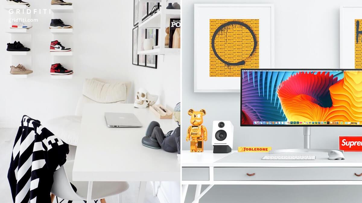 Minimal Hypebeast Desk Setup Ideas
