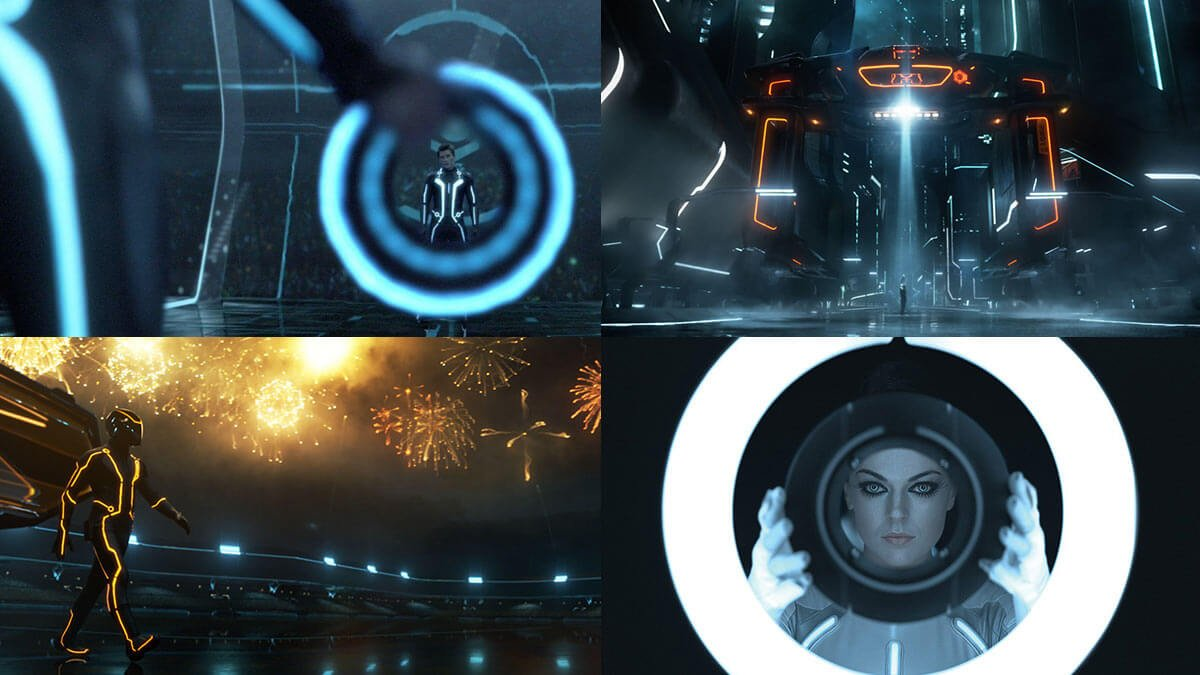TRON: Legacy Beautiful Film Frames