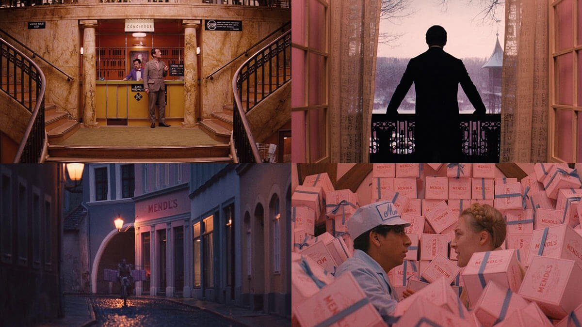Grand Budapest Hotel Beautiful Visuals