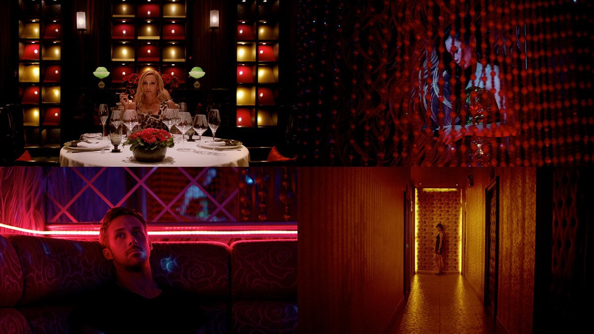 Only God Forgives Cinematic shots